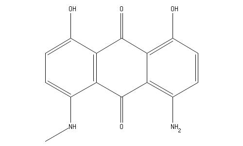 5-アミノ-1,8-ジヒドロキシ-4-メチルアミノアントラキノン   化学物質 ...